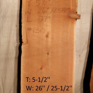 Western Red Cedar 5.5 in X 26 in X 6'