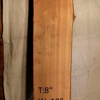 Western Red Cedar 8 in X 19 in X 8'