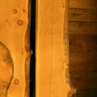 Alaskan Yellow Cedar 7 in X 18 in X 8'