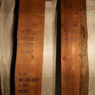 Western Red Cedar 7 in X 20 in X 8'