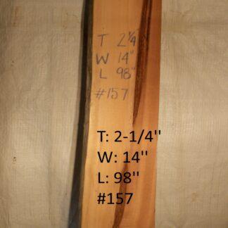 Western Red Cedar 2.25 in X 14 in X 8'