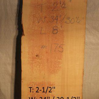 Alaskan Yellow Cedar 2.5 in X 32 in X 8'