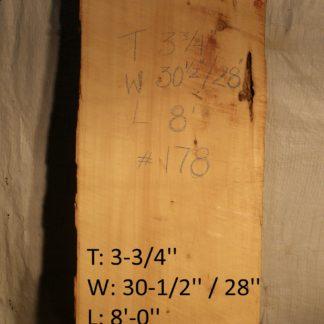 Alaskan Yellow Cedar 3.75 in X 29 in X 8'