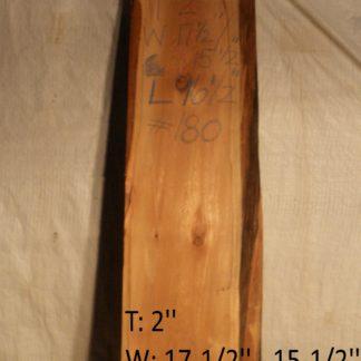 Western Red Cedar 2 in X 16 in X 8'