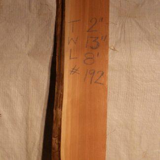 Western Red Cedar 3 in X 13 in X 8'