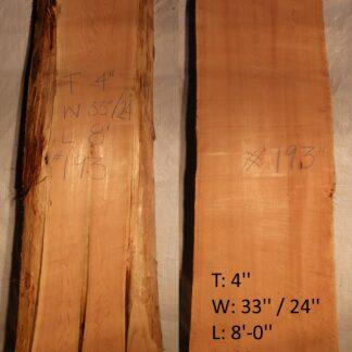 Western Red Cedar 4 in X 28 in X 8'