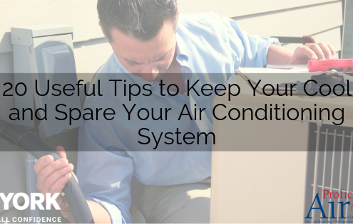 20 Useful Tips to Keep Your Cool and Spare Your Air Conditioning System