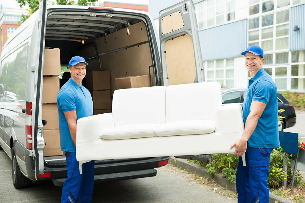 Three Men Big Muscles Abbotsford Movers