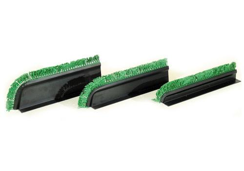 Black Curved Divider + Green Parsley