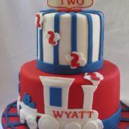 Choo Choo Two Two cake
