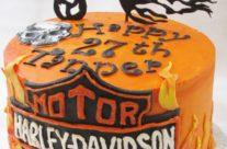 Harley Motorcycle Cake