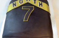 Raptors jersey cake