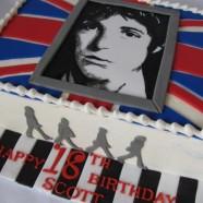 Paul McCartney cake
