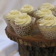 Rustic Elegance, Muskoka wedding cupcakes