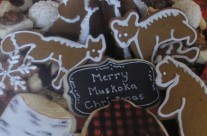 Muskoka Christmas cookie trays