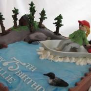 Cache Lake cake