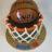 Basketball net cake