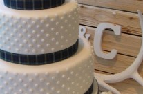 Polkadot Wedding Cake
