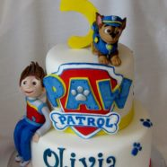 Paw Patrol cake in Muskoka