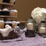 Muskoka wedding cupcakes