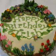 Gardening cake in Muskoka