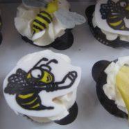 Huntsville Sting Hockey Cupcakes
