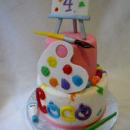 Artist Themed Cake