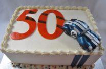Cobra Race Car Cake