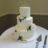 simple yet elegant buttercream wedding cake