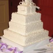 Chris & Kelly's cake