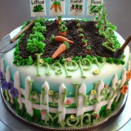 green thumb cake