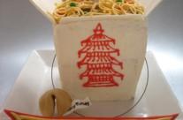 Chinese take-out cake