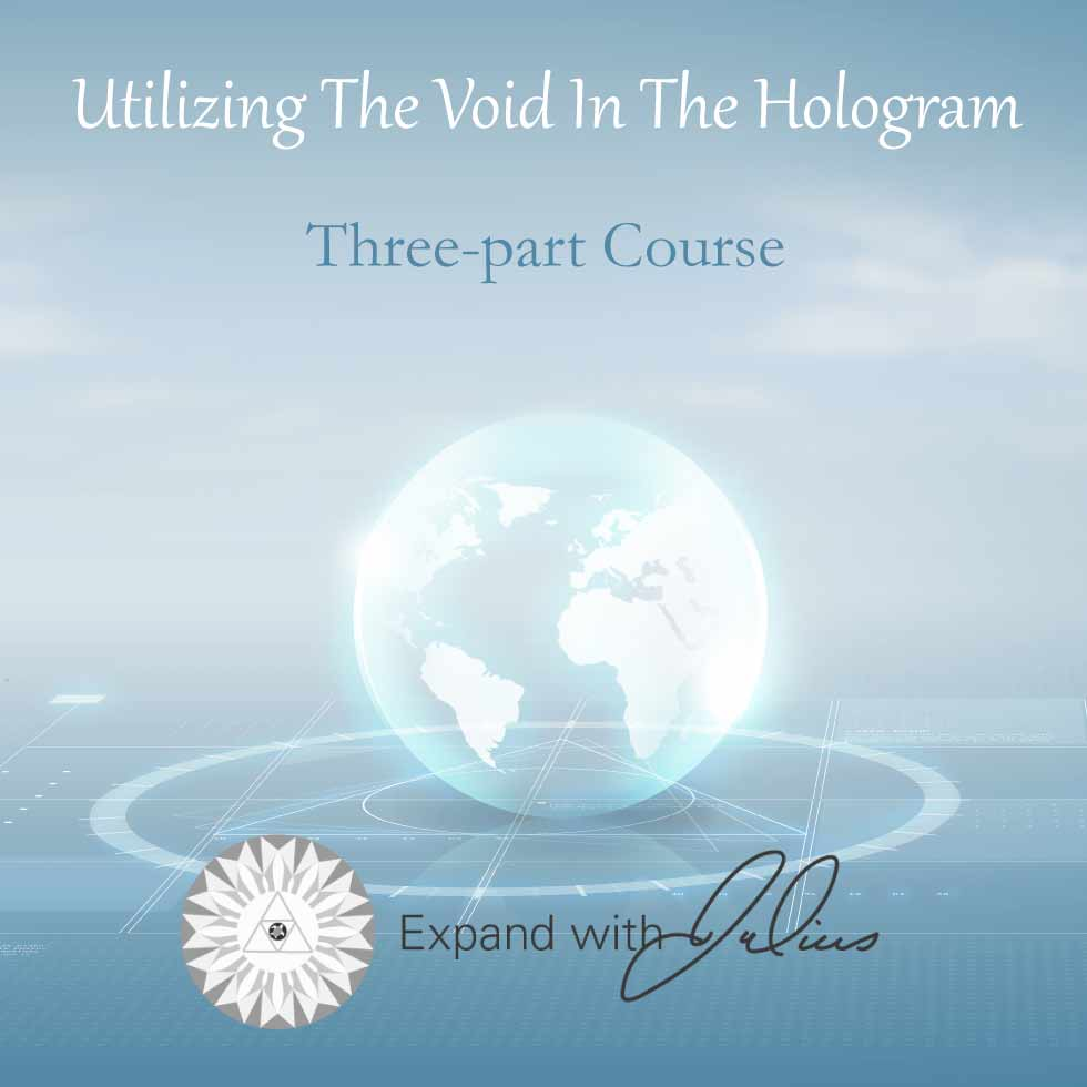 Utilizing the Void in the Hologram.   Expand with Julius and Xpnsion Network