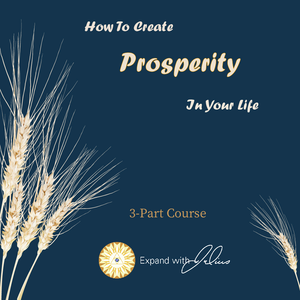 How To Create Prosperity In Your Life | Expand with Julius and Xpnsion Network