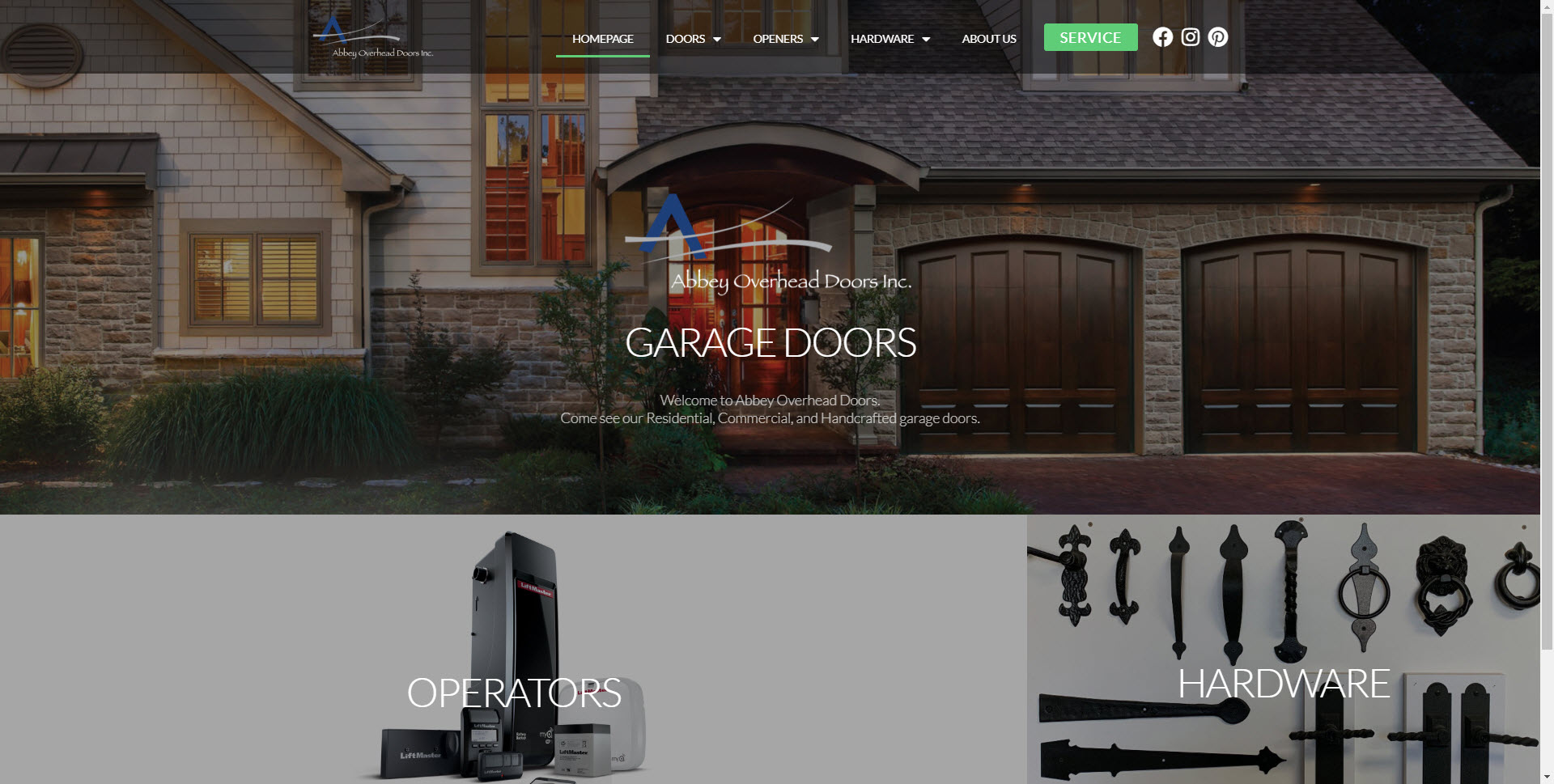 abbeyoverheaddoors_websiteredesign_home