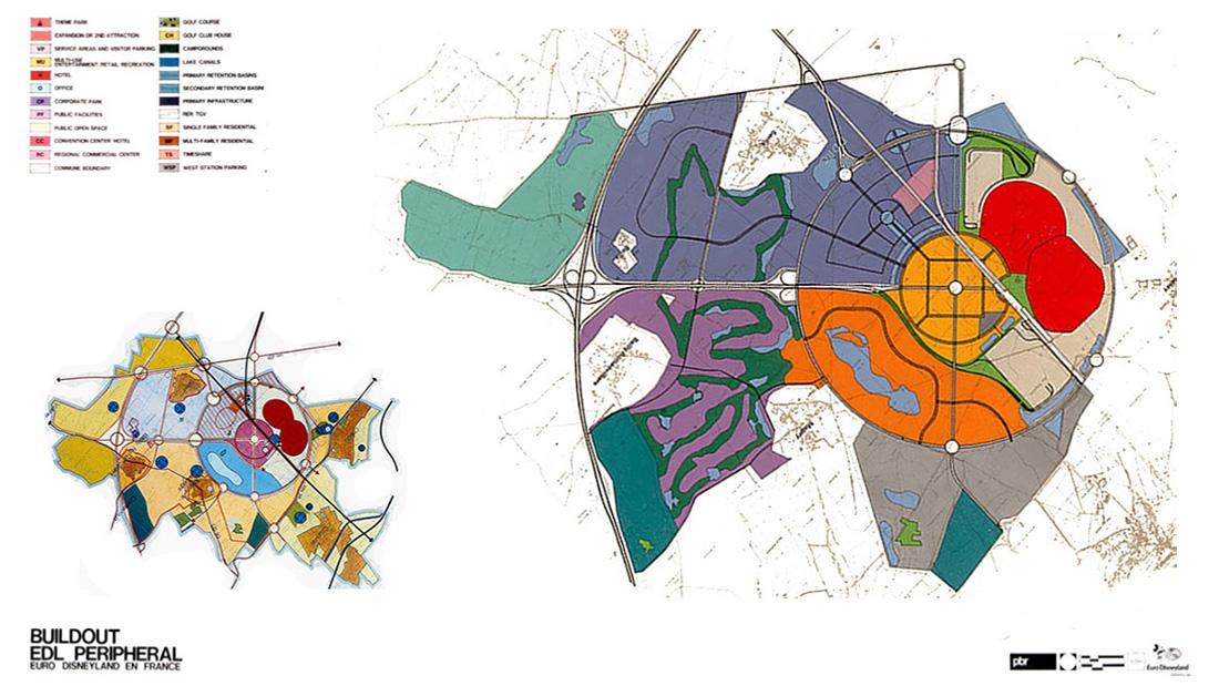 Marne-la-Vallée Master Plan