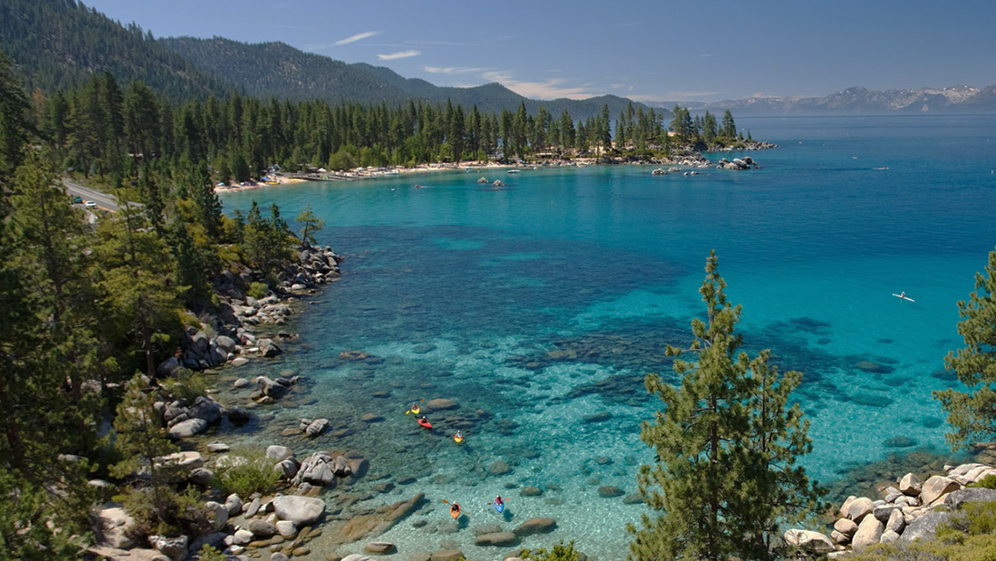 Regional visitor destinations - Lake Tahoe (California, Nevada).
