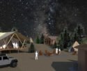 Glamping accommodations conceptual design - Adventure Entertainment Cos.