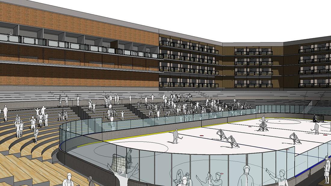 hockey rink design