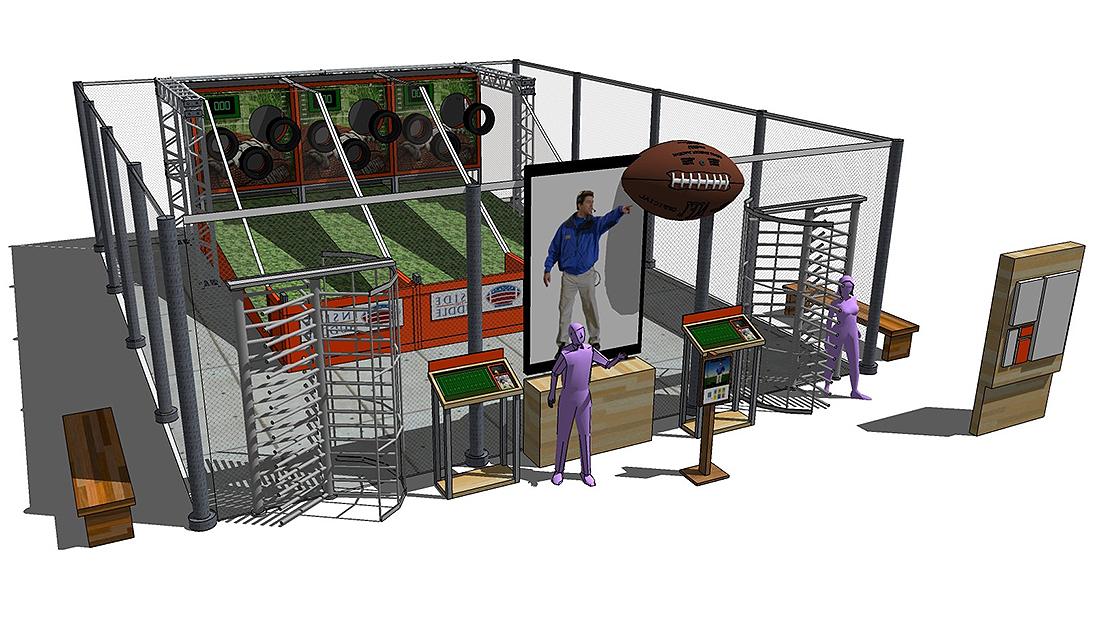 Conceptual Design for Sports Bar Restaurant
