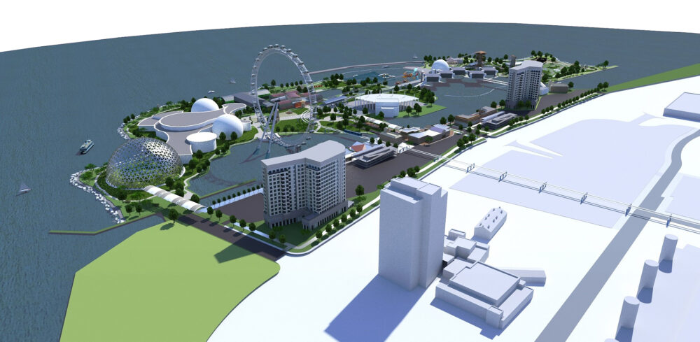 Redevelopment project consultants for the revitalization and regeneration of urban areas.