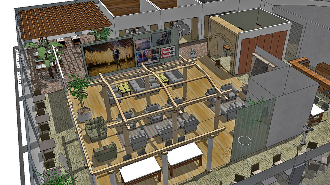 Office and Industrial Consultants - An example of design charrette facilitation by StoneCreek Partners, here, one of the exhibits prepared for the sessions.