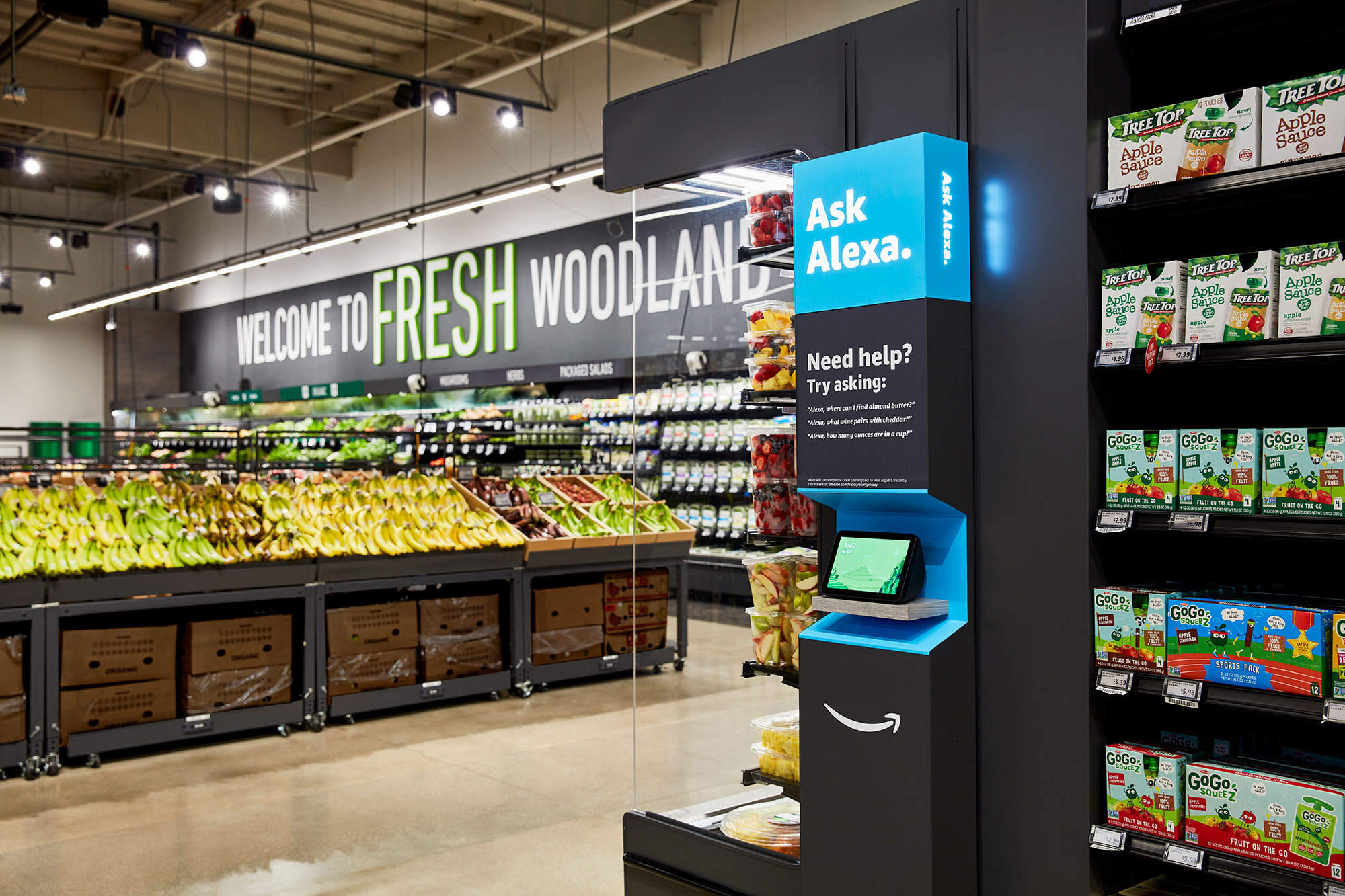Amazon Fresh Opens in Irvine. Image ©Amazon