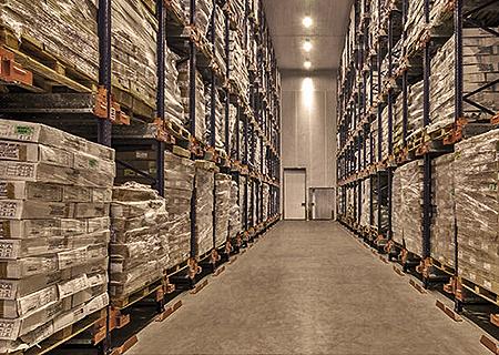 Cold chain logistics asset class