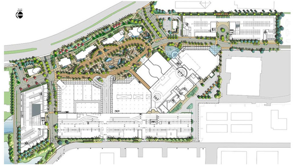 Major Shopping Centers Getting Redeveloped