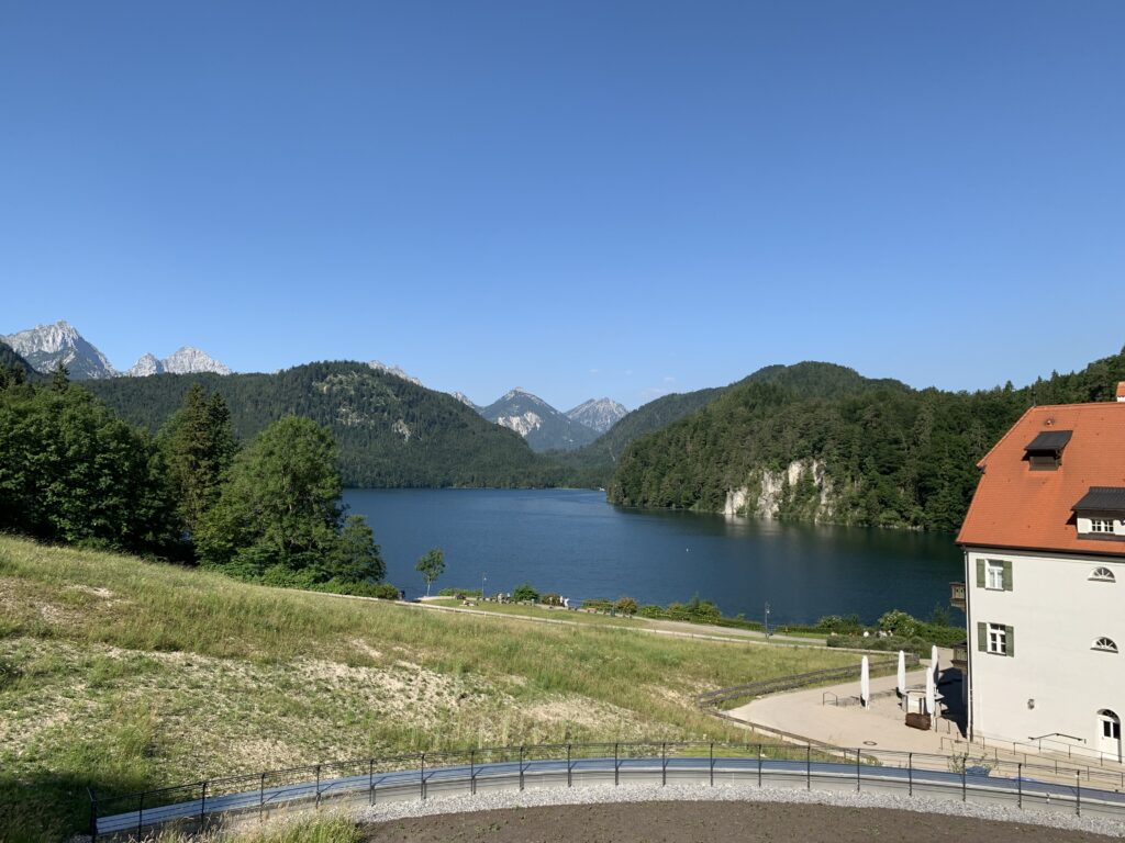 View of the Alpsee from Ameron Neuschwanstein room 311