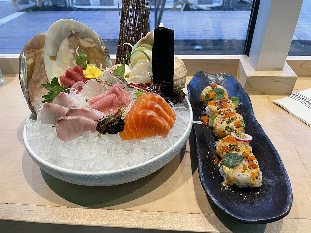 Sushi at Shiro