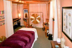 Acutonics Practitioner Room
