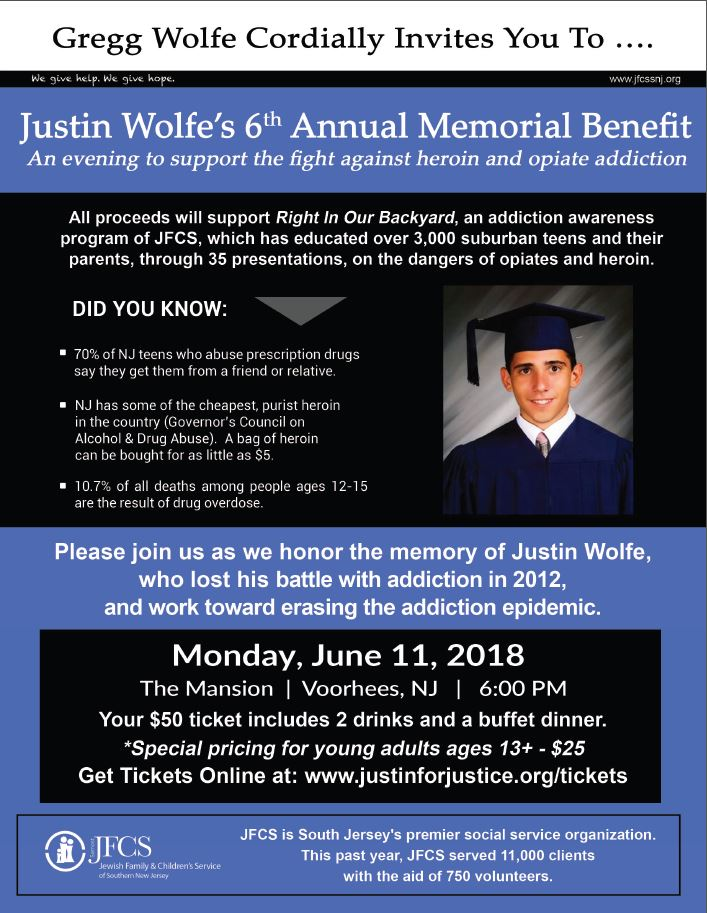 Justin Wolfe - Annual Fundraiser