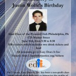 Save The Date: June, 11th– Justin's Birthday
